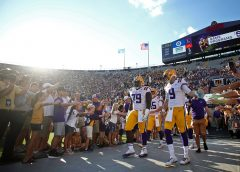 Louisiana State University investigating alleged racial slurs used at football game